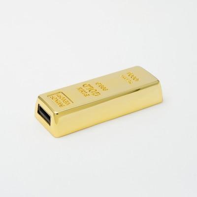 Μεταλλικό USB σχήμα χρυσού από την myUSB