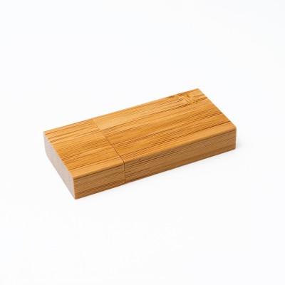 Οικολογικό διαφημιστικό USB από Bamboo